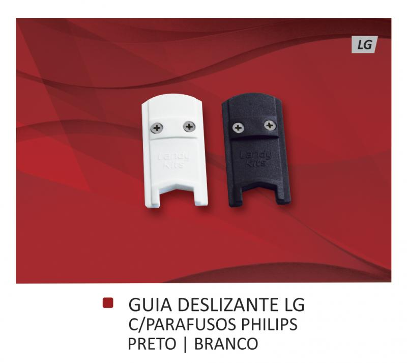 Guias Deslizantes LG com parafusos Allen